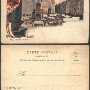 Carte postale Sunlight